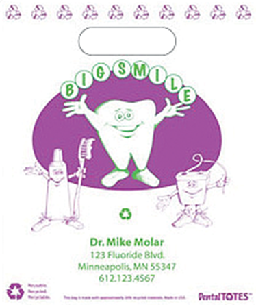Picture of Big Smile Supply Bag - Small, Purple