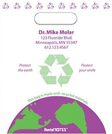 Picture of Protect Earth Supply Bag - Large, Purple