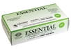 box of ESSENTIAL SMOOTH FINISH Latex Exam Glove dental exam gloves