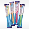 Assorted Colors of Ergo Soft Adult Toothbrush from Quantum Labs