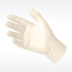picture of MICROFLEX DERMA FREE Exam Glove white synthetic exam glove