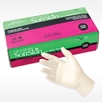 Picture of  Quantum SoftSkin latex exam gloves with Aloe and Vitamin E