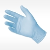 picture of light blue QUANTUM NitrilePreferred Exam Glove