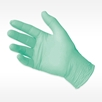 green SOFTSKIN HINT of MINT Nitrile Exam Glove