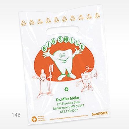 Picture of Big Smile Supply Bag - Large, Orange