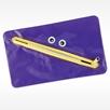 Purple toothmonster dental supply bag for kids