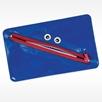 Blue toothmonster dental supply bag for kids