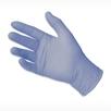 picture of light blue HALYARD AQUASOFT Nitrile Dental Exam Glove