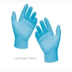 pictore of left right VITAL SHIELD Gold Fitted Nitrile Exam Gloves dental exam gloves