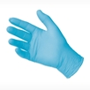 picture of blue VITAL SHIELD Gold Fitted Nitrile Exam Gloves