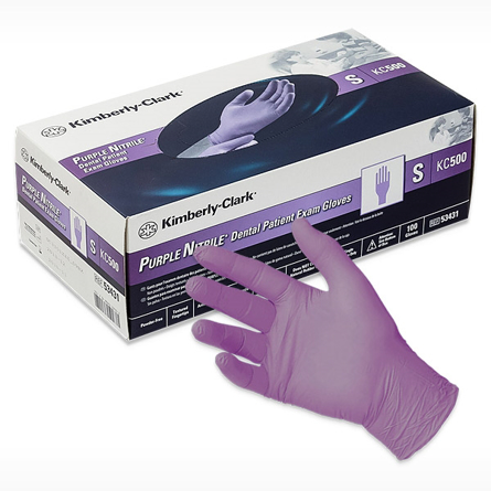 Picture of K C PURPLE NITRILE - SMALL - OUT OF STOCK