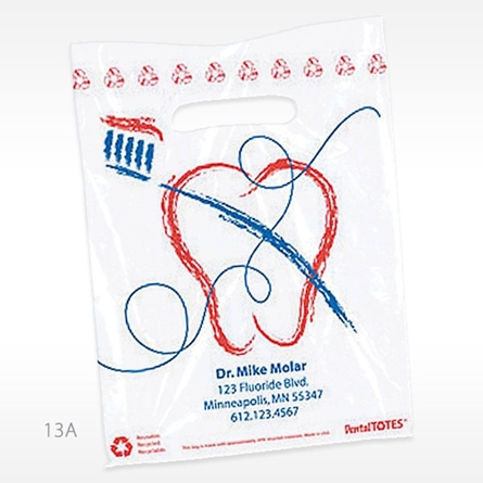 Picture of Brush Art Supply Bag - Small, Red