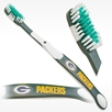 Officially licensed NFL team Green Bay Packers toothbrush