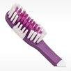 purple and white Officially licensed NFL Vikings team toothbrushes with hologram bulk toothbrushes
