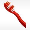 Soft red and white bristles on KUNG FU PANDA TOOTHBRUSH kids bulk toothbrushes