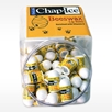 CHAP ICE BEESWAX MINI LIP BALM in fishbowl dispenser container for placing at reception desk