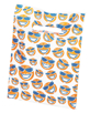 Suns Scatter  Print Value Dental Supply Googie Bag with Toothbrush Floss and Toothpaste
