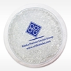 Hot Cold Plush Ice pack in White with 1 color imprint