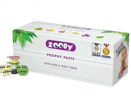 ZOOBY PROPHY PASTE ANIMAL PACK MED 100/BX