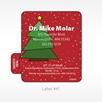Label 41 Christmas Tree