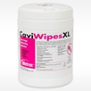 """Canister of CaviWipes XL 9"""" x 12"""" 65 wipes per box 13-1150 Caviwipes XL disinfecting towelettes wipes"""