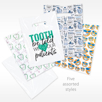 Choose your style bag Value Kit Goodie Bag with Patient Take home premium toothbrush, floss and Crest toothpaste