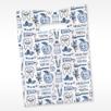Happy Healthy Teeth SP12w Scatter Print Dental Supply Bag