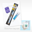 Value Kit Toothbrush Bundle with Pro Blister Packed Toothbrush Patient Floss and Quantum Fresh Mint Toothpaste
