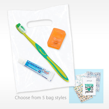 Value Kit with Paste Premium Toothbrush and floss