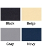 Color swatches limited to Gray and Beige MediPosture Child Booster Seat and Kiddie Headrest Combo MDC803-MDC403
