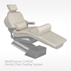 MediPosture Memory Foam Overlay System with 3.5 inch classic headrest