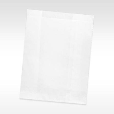 White Paper Dental Goodie Bag Supply Bag7.5 x 10.5 Paper