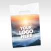 Your logo here Extra Large Custom Plastic Supply Bag 12 x 16