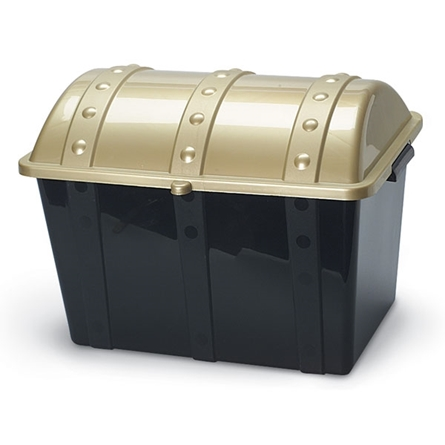 Large plastic treasure Chest for filling with toys