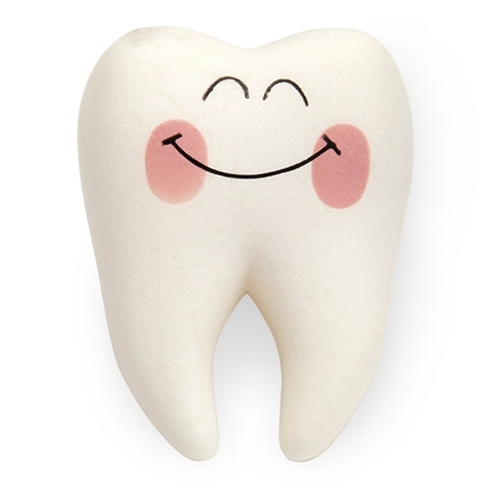 Stress Ball Squishy Tooth Smiling Tooth Shaped Stress Foam Squish