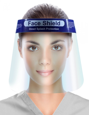 UniPack Anti Fog Full Face Shield Splash Protection ULM-6091