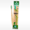 adult Bamboo Bulk toothbrush in recycled packaging