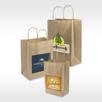 Custom Kraft Paper Shopper Family