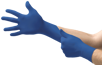 Microtouch Royal Blue Nitrile Exam Glove from Ansell