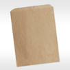 Sustainable Recycled Kraft Brown Natural Hygiene Paper Bags 100 CT 7.5 x 10.5 unprinted