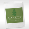 Full color custom supply bag 7.5 x 10 eco print