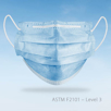 Earloop Surgical Level 3 Face Mask - Blue Box of 50