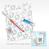 Quantum VSK2 VALUE KIT Premium Toothbrush Bundle with Floss and Paste