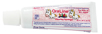 Bubble gum flavored fluoride kids toothgel toothpaste